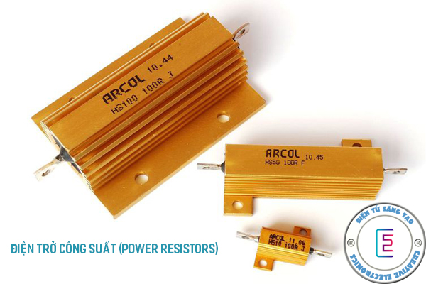 Điện trở công suất là gì?